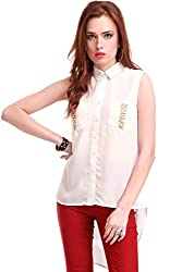 Chained Pocket Ivory Shirt