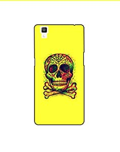 Oppo R7S nkt01 (18) Mobile Case from Mott2 - Skeleton Head (Limited Time Offers,Please Check the Details Below)