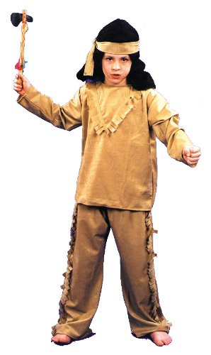 Brown Indian Boy Child Costume