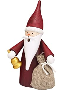 German incense smoker christmas gnome, height 16 cm / 6 inch, original Erzgebirge by Seiffener Volkskunst SV 12315 from Seiffener Volkskunst eG
