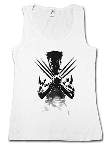 WOLVERINE SHADOW WARRIOR DONNA TOP - Origins X-Men Hugh Logan Jackman Taglie S - XL