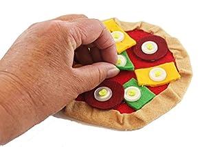 Fastenating Fun Felt Button Pizza from TMC Adaptations
