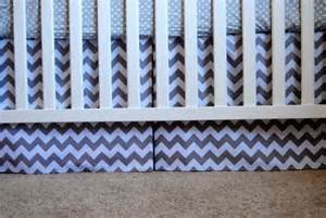 Best Review Of Zig Zag Baby Crib Skirt by New Arrivals