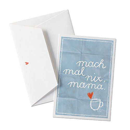 mach mal nix mama gl ckwunschkarte f r m tter muttertagskarte oder weihnachtskarte gutschein. Black Bedroom Furniture Sets. Home Design Ideas