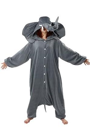 Elephant kigurumi costume pyjamas onesie - Pyjama elephant ...