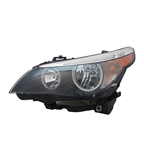 TYC 20-9364-00-1 BMW Left Replacement Head Lamp (2004 Bmw 525i Headlights Assembly compare prices)