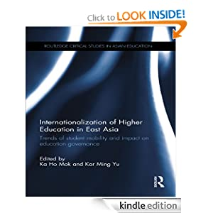 Logo for Internationalization of Higher Education in East Asia: Trends of student mobility and impact on education governance