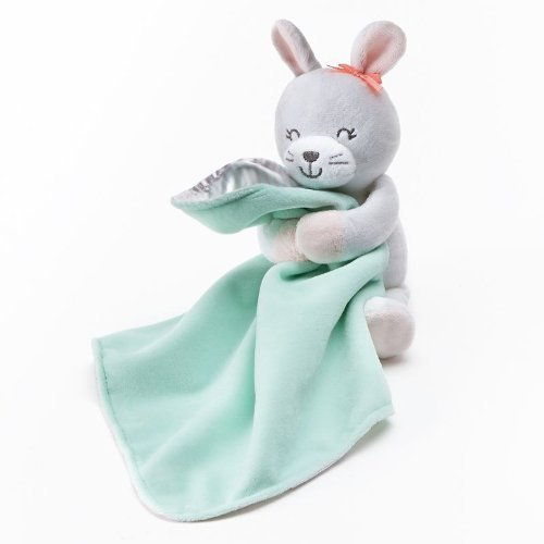 Carters Plush Bunny & Blanket - 1