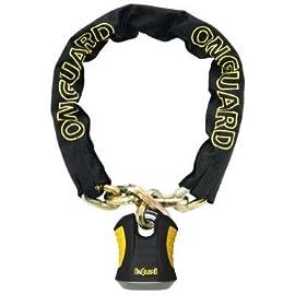 OnGuard Beast Bike Chain Lock w/ X2 Padloack - 8017