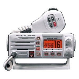 Big Save! Standard Horizon GX1200W Standard Eclipse DSC and VHF Marine Radio - White