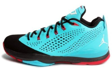 5ce80b4604c Low cost Nike Mens Air Jordan CP3.VII Basketball Shoes Gamma Blue White  Black Red 616805-402 Size 11