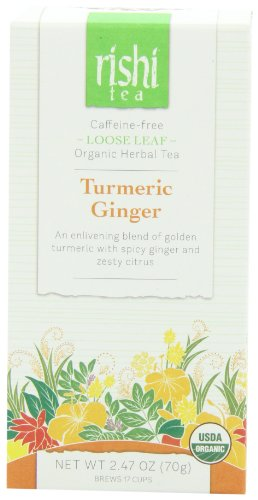 Rishi Tea Turmeric Ginger, 2.47 Ounce
