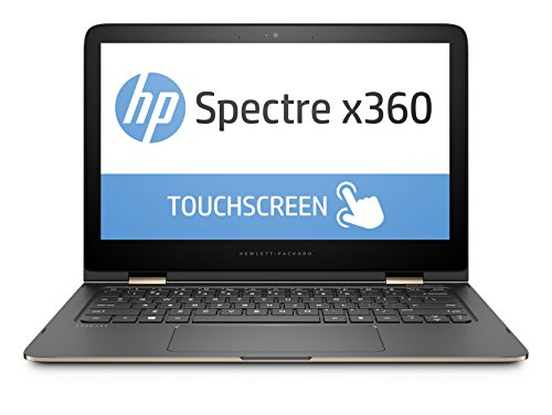 "HP Spectre x360 13-4132nl Portatile Convertibile, Display LED IPS FHD da 13,3"", Processore Intel Core i5-6200U, RAM 8GB, SSD da 256GB, Argento"