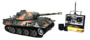 Airsoft Remote Control RC German Panther Battle Tank