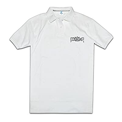 Prong Band Tops & T-Shirts Polo Shirts White Man