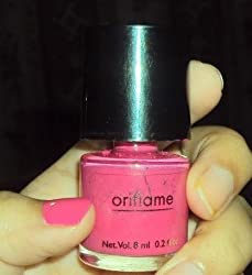 Oriflame Pure Colour Nail Polish Mini(intense pink)-33073