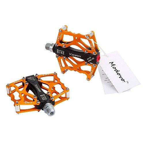 Modovo Aluminium Alloy MTB Pedal Lightweight Durable Corrosion Resistance Gloden
