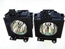 Panasonic ETLAD60AW Replacement Lamp For PTDZ570 PTDZ6000 Series Twin Pack 310 Projector Uhm