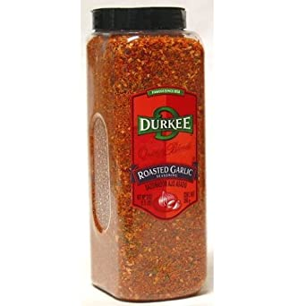 Durkee Roasted Garlic Seasoning - 21 oz. container, 6 per case