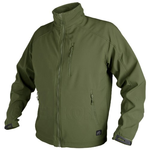 Helikon Army Tactical Delta Jacket Mens Fleece Windbreaker Airsoft Hiking Olive