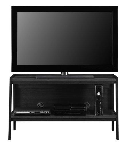 Altra Furniture Ladder TV Stand, Black Finish photo