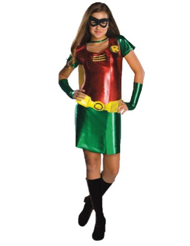 Batman Robin Tween Costume Md Tween Womens Costume