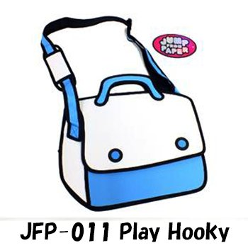 JumpFromPaper  ジャンプフロムペーパー(海外正規店商品) アニメから飛び出したようなバッグ! JFP-011 Play Hooky