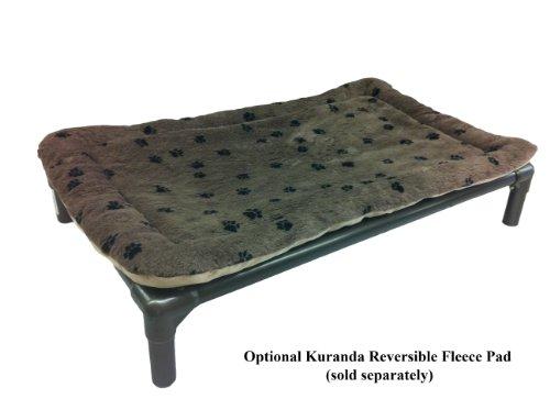 kuranda walnut pvc chewproof dog bed xl 44x27 With ballistic nylon dog bed