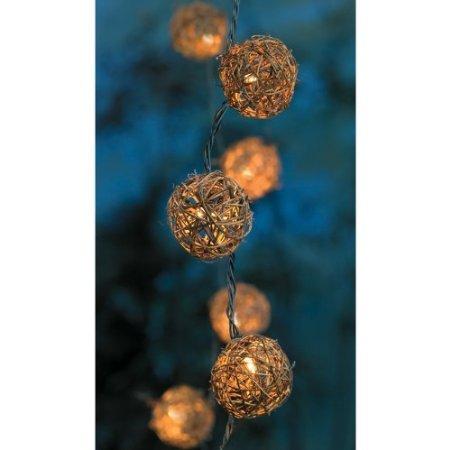 Grapevine / Rattan Ball String Lights