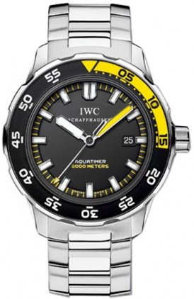 IWC Aquatimer Automatic 2000 Mens Watch 3568-01