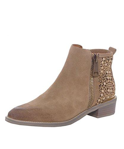 Alma en Pena Stivali alla caviglia con perline 36 Sand