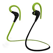buy [New Release] Enegg Wireless Bluetooth 4.1 Csr Stereo Earbud Earphone Headset Headphone With Microphone For Iphone, Samsung Galaxy Note, Lg, Motorola, Sports, Running, Hiking, Outdoor - Hands Free