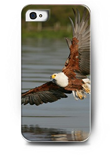 Ouo Stylish Series Case For Iphone 4 4S 4G With The Design Of Eagle Fly On Water Surface