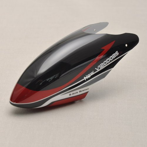 WALKERA HM-NEW V120D02S-Z-01 Canopy Red For V120D02S RC Helicopter Parts - 1