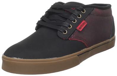 Etnies Men's Brian Kachinsky Jameson 2 MID Skate Shoe,Black/Red/Gum,10 M US