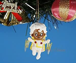 *K1024_G Decoration Xmas Ornament Tree Home Decor Marvel Superhero X-Men Storm Toy Model (Original from TheBestMoment @ Amazon)