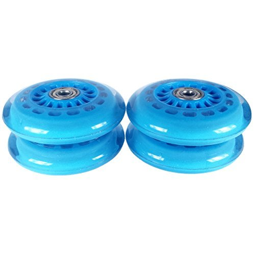 Sale!! Plasma Car Polyurethane Replacement Wheels - Blue