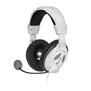 Turtle Beach - Ear Force PX22- Universal Amplified Gaming Headset - PS3, Xbox 360 - White