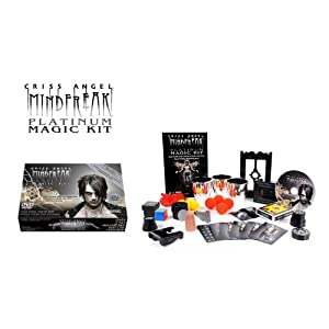 The Criss Angel Mindfreak Platinum Magic Kit