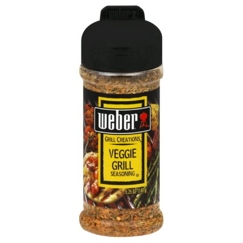 Weber Grill Seasoning Veggie Grill, 5.25-Ounce (Pack of 4)