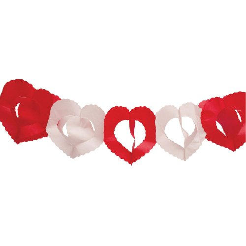 Hearts Tissue Garland