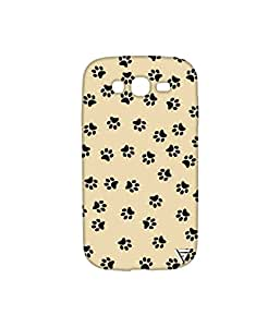 Vogueshell Dog Footprint Printed Symmetry PRO Series Hard Back Case for Samsung Galaxy Grand Neo Plus