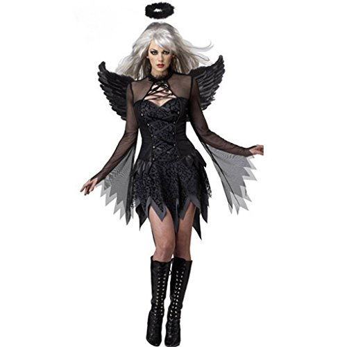 Gloshop Women's Adult Fallen Angel Costume