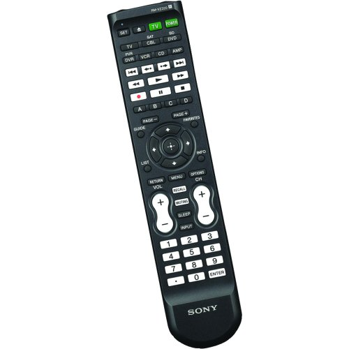 Sony RMVZ320 Remote Control Up To 7 Compatible Video Components (Black)