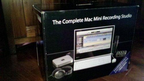 discount the complete mac mini recording studio lowest price guarantee. Black Bedroom Furniture Sets. Home Design Ideas