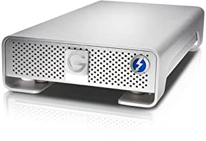 3000GB G-Technology G-Drive Thunderbolt GDRETHU3EB30001BDB Silver 0G03125 External