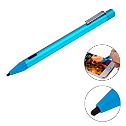 2.3mm Ultra-thin Nib Active Stylus Pen for iPhone 6 & 6 Plus, iPhone 5 & 5S & 5C, IPad Pro / iPad Air 2 / iPad Air / iPad mini / mini with Retina Display and All Capacitive Touch Screen (Blue)