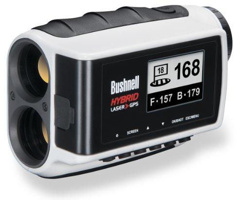 Bushnell Hybrid Laser Rangefinder And Gps Unit, White