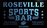 tj2262-b Roseville Sport Bar Beer Pub Club Neon Light Sign