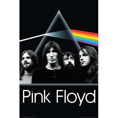 (24x36) Pink Floyd - Dark Side of the Moon Group Poster